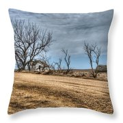 There Stands My Soul Throw Pillow
