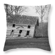 There Was A Crooked House Throw Pillow