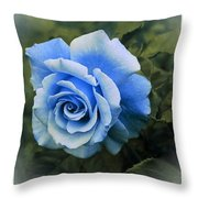 There Were Roses Triptych 2 Throw Pillow