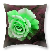 There Were Roses Triptych Throw Pillow