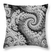 There's A Chill In The Air  Throw Pillow