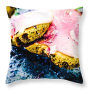 There's A Fungus Among Us Throw Pillow