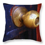 There's A Key Here Somewhere Throw Pillow