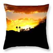 There's Gold In Them Thar Hills Throw Pillow