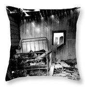 These Fire Walls  Throw Pillow