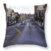 These Streets Are Made For Walking Throw Pillow