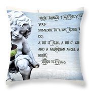 These Things I Warmly Wish For You Throw Pillow