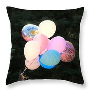 They Are Floating Throw Pillow