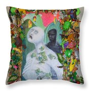 They Are The Standing Dead - Framed Throw Pillow