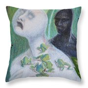 They Are The Standing Dead Throw Pillow