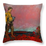 They Called It Passchendaele Throw Pillow