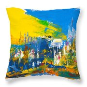They Came Bearing Gifts Throw Pillow