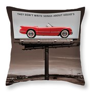 They Dont Write Songs Throw Pillow
