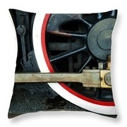 They Drive The Wheels Throw Pillow
