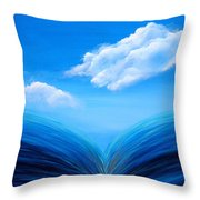 They Flowed Together Throw Pillow