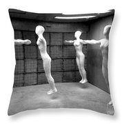 Spooky - They Live Throw Pillow