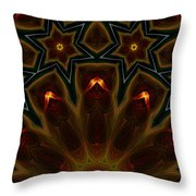 They Rise From The Deep Throw Pillow