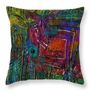 They Sing Of Freedom Throw Pillow