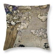 They Were Ruled By An Old Squaw Spirit Throw Pillow