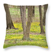 They're Not Weeds Throw Pillow