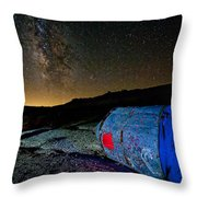 They've Landed Throw Pillow