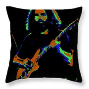 Things Get Electric Throw Pillow