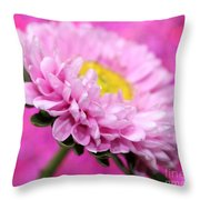 Think In Pink Throw Pillow