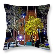 Thinking About Past Glory Throw Pillow
