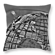 Third Of The World Throw Pillow