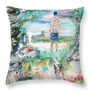 Third Stone From The Sun Throw Pillow