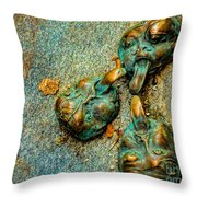 Thirsty Faces Throw Pillow