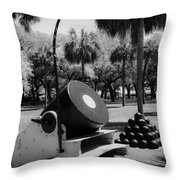 Thirteen Inch Mortar Throw Pillow