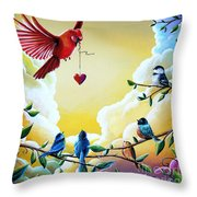 This Heart Of Mine Throw Pillow
