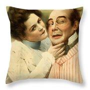 This Is A Cinch Circa 1899 Throw Pillow