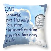 This Is All I Ask Throw Pillow