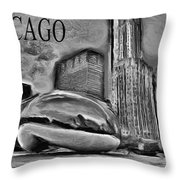 This Is Chicago Throw Pillow