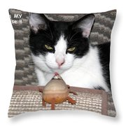 This Is My Mouse Throw Pillow