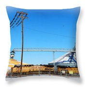 This Is North Platte Throw Pillow