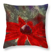 This Is Not Just Another Flower - Spr01 Throw Pillow