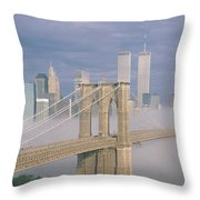 This Is The Brooklyn Bridge Throw Pillow