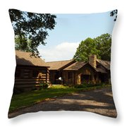 This Is The Cabin Throw Pillow