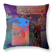 This Land We Conquer Throw Pillow