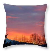 This Magic Hour Throw Pillow
