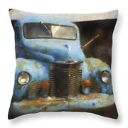 This Old Truck 13 Throw Pillow