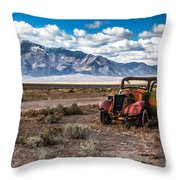 This Old Truck Throw Pillow