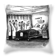 This Patient Has A Rare Form Of Medical Insurance Throw Pillow