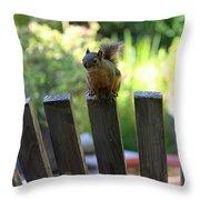 This Seat Is Taken Throw Pillow