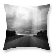 This Way Comes  Throw Pillow