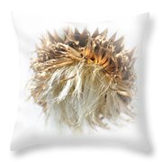 Thistle Abstract 14-1 Throw Pillow