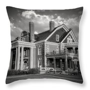 Thistle Hill Bw Throw Pillow